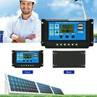 12V/24V LCD Auto Work Solar Charge Controller PWM Dual USB PC Output Charger