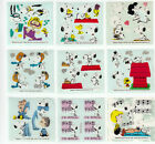 Stickermagic Peanuts Snoopy Woodstock Lucy Glossy Vintage Stickers - You Choose