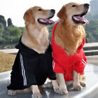 Fashion Dog Clothes Pet Clothing Sweatshirt Warm Hooded Large Dogs Sports Outfit