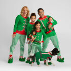Christmas Family Matching Pajamas Set Adult Womens Kid Baby Sleepwear Nightwear