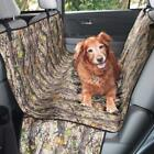 mDesign Camo Pet Car Seat Protector Cover - Deep Forest/Black