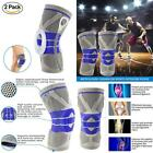 Nylon Silicon Knee Sleeve, Brace Compression Sleeves, Elastic &...