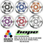 Hope 6 Bolt Floating Disc Rotor - All Colors and Sizes - Brand New