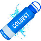 The Coldest Water 21 oz Stainless Steel Double Walled Sports Bottle