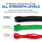 POWER Heavy Duty RESISTANCE BAND Set Pull Up Gym Yoga Rubber Mobility Fitness  image