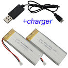 3.7V 2500 mAh 25C Polymer Rechargeable Li-Po battery for RC Toys RC boat 803496