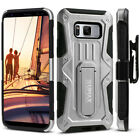 Samsung Galaxy S8 Case, UMAX Dual Layer Case with Kickstand & Holster SM-G950