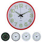 Creative 12 rustic Slient Luminous digital wall clocks Indoor Home Decoration