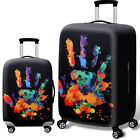 "18"" -32"" Printed Elastic Luggage Suitcase Cover Protective Bag Dust Protector"