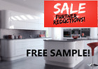 WHITE GLOSS KITCHEN DOORS AND DRAW FRONTS
