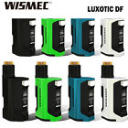 New 1Wismec Luxotic DF Squonk Mod only Or Kit  w Guillotine V2 Tank 7ml Capacity
