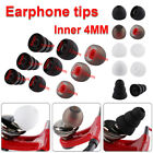 10 Pairs Universal In-ear Earphone  Ear tips Replacement Silicone Earbuds Rubber