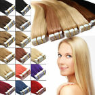 7A 100 Virgin Remy Human Hair Tape in GradeWeft 20/40pcs Skin Extensions