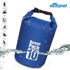 10L/20L Waterproof Dry Bag Pack Sack Swimming Rafting Kayaking River Trekking