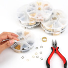Внешний вид - Jewelry Making Findings Supplies Closed Ring,Lobster Clasp,Clip Beads Cap,Pins