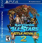 Playstation 4 PS4 Playstation Allstars Battle Royale 2 Custom *Case* & Artwork*