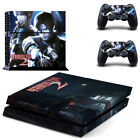 New Resident Evil 2 Sticker PlayStation 4 Vinyl Skins Cover Console Controller