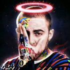Mac Miller Death Tribute Hip-Hop Custom Album Mashup Poster or Art Print
