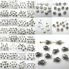 Multi-styles Alloy Connectors Spacer Bail Beads Charm Pendants Jewelry Making