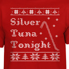 Home Alone Ugly Christmas Sweater Silver Tuna Tonight Wet Bandits Funny Movie