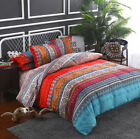 Bohemian Ethnic Duvet Quilt Cover Pillow Case Bedding Set Twin Double/Queen King image
