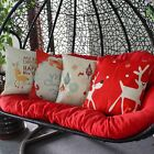 """New Christmas Decorative Throw Pillows Cases Sofa Indoor Outdoor Home 18"""" x 18"""""""