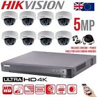 HIKVISION 5MP CAMERA CCTV SYSTEM UHD 4K DVR 4CH 8CH HD OUTDOOR HOME SECURITY KIT
