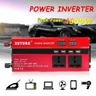 3000W/4000W/5000W Power Inverter Sine Wave DC12V To AC110V/220V LED 4USB Charger