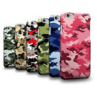Army Camo Camouflage Pattern 3D Phone Case Cover Skin for LG Google HTC Sony