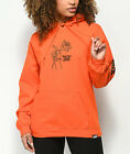 Broken Promises Could Be Different Orange Hoodie Womens Pullover Sweater Rare