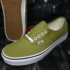 Vans Authentic Canvas Cress Green True White Men's Skate Shoes S8C149.121