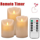 Flameless Wax LED Flickering  Mood Candles Dancing Batter Lights Decoration Xmas