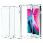 Case and 2PK Screen Protectors for iPhone XR X, Xs Max 6 6S 7 Plus 8 Plus Clear  фото