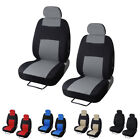 2pc Universal Car Seat Covers Front Head Rests Full Surround Auto Seat Cover on eBay