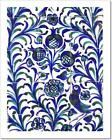 Fajalauza Tile Glazed Ceramic, Granada Art Print Home Decor Wall Art Poster - C