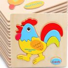 3D Puzzles Jigsaw Wooden Toys Animal Cartoon Aircraft Learning Toys for Kids