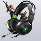 3.5mm/USB Gaming Headset Wired PC Stereo Earphones Headphones with Microphone