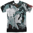 Authentic Elvis Presley Now Playing Concert photo Sublimation Front T-shirt top image