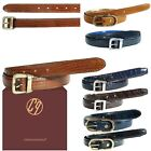 New Casual Ladies Classic Genuine Leather Lizard Textured Tribe Buckle Belts