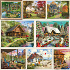 Внешний вид - Village House Full Drill DIY 5D Diamond Painting Embroidery Cross Stitch Kits