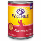 Wellness Complete Health Natural Grain FreeBeef & Chicken Pate Wet Cat Food