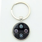 PS4 Xbox One Keychain Key Ring Gamer Geek Controller Gift Sony Microsoft Mens