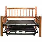 Homestead Collection Day Bed w/ Pop Up Trundle Bed, Ready to Finish