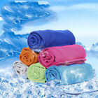 Multicolor Ice Towel Utility Enduring Instant Cooling Towel Heat Relief Reusable image