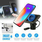Car Wireless Magnetic Fast Charger Air Vent Holder for Samsung S8 S9 iphone X/8