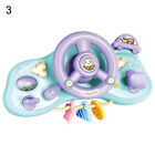 Early Education Steering Wheel Toy Electric Simulation Light Music Toy for Kids