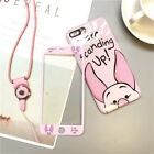 Disney Full Cover Case+Glass Phone for IPhone X XR XS Max 8 7 6 6S Plus Iphone7