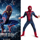 Child Spiderman Movie Character Classic Muscle Cosplay Marvel Boy Amazing Fantas