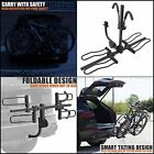 BV Bike Bicycle Hitch Mount Rack Carrier for Car Truck SUV - Tray Style Smart