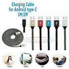 Type-C USB-C Sync FAST Charging Data Cable For Android Samsung 1M 2M CA